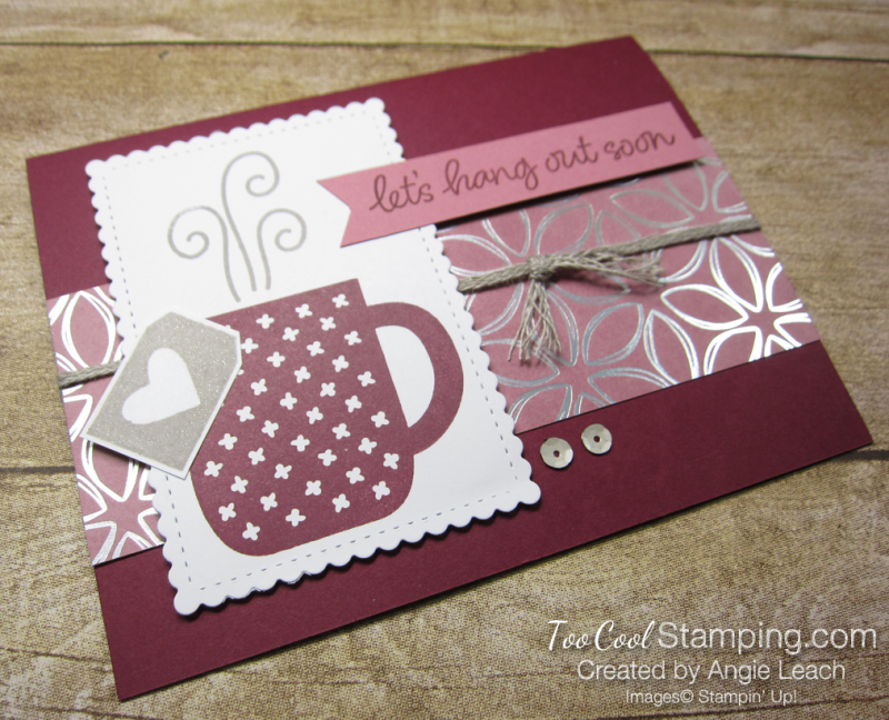 Rise & Shine with Flowering Foils - hang out 2
