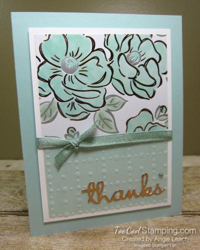 Flowering Foils Thanks 1