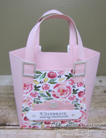 Best dressed tote - blushing bride