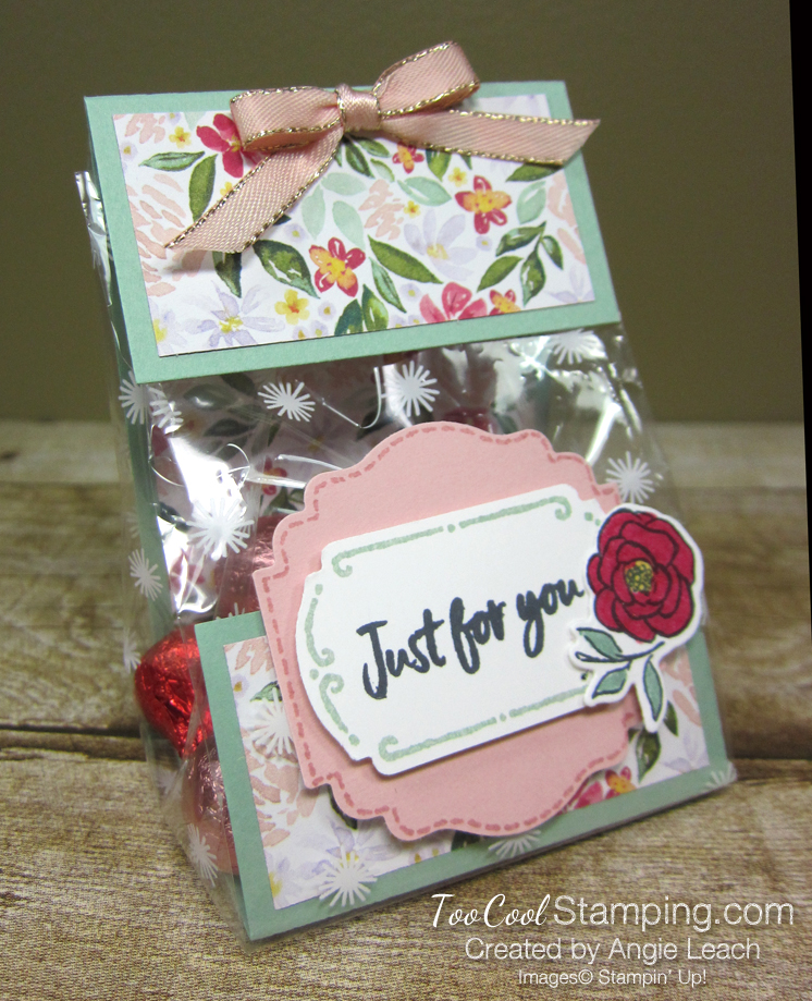 Tags in bloom cello bags - mint