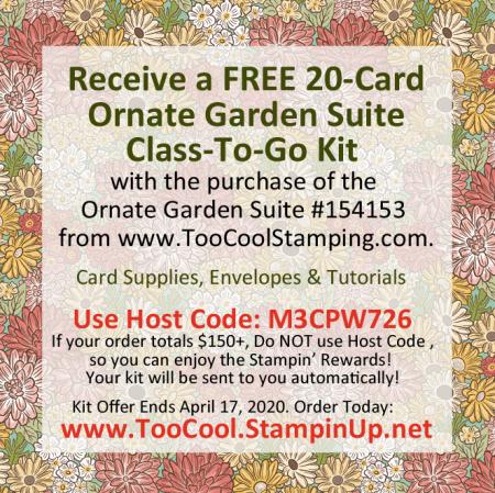 Ornate Garden Class Kit Banner