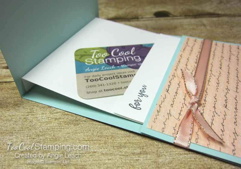 So Sentimental Happiness Gift Card Holder - parisian 4