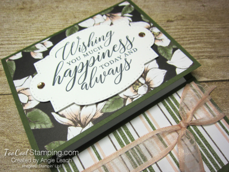 So Sentimental Happiness Gift Card Holder - magnolia 2