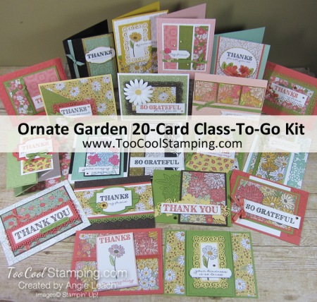 Ornate Garden 20-Card Class Kit Banner