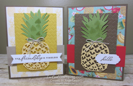 In The Tropics pineapple - two cool