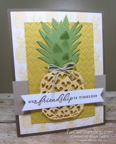 In The Tropics pineapple - friendship