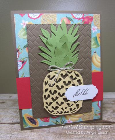 In The Tropics pineapple - hello