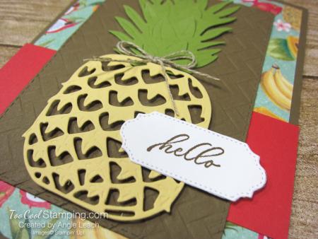 In The Tropics pineapple - hello 3