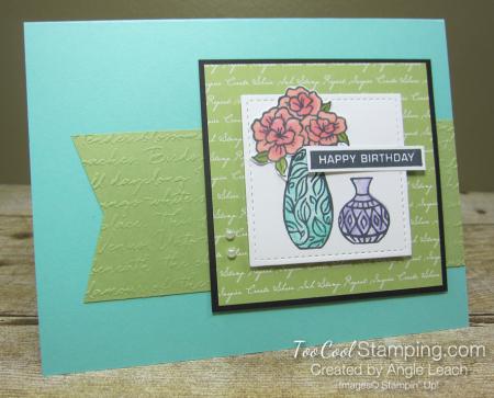 Vibran Vases Happy Birthday Cards - coastal