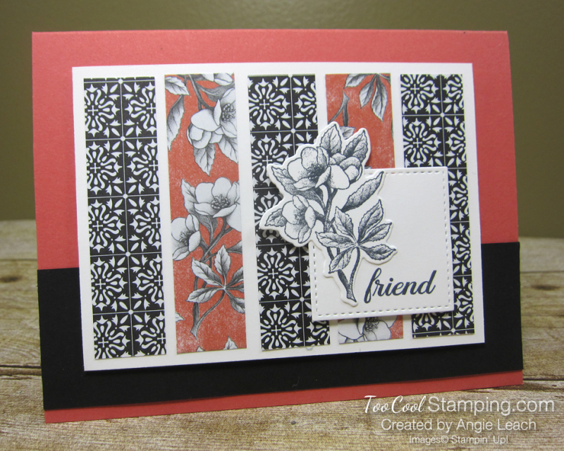 Botanical prints strips 1