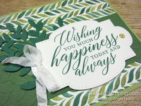 Forever Greenery - Wishing You Happiness Leaves 2