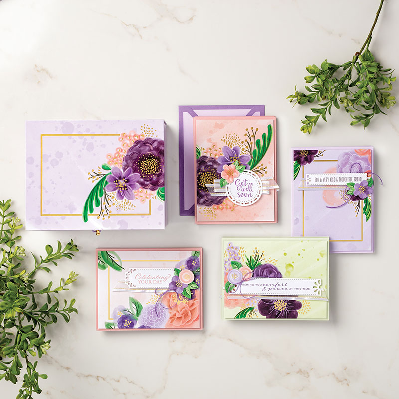 Gorgeous posies kit 153131O31