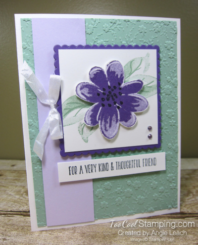 Gorgeous Posies Kit Cards - Thoughtful Friend 1
