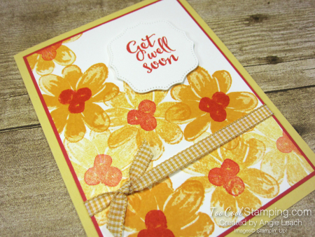 Gorgeous Posies Kit Cards - Get Well Soon a2