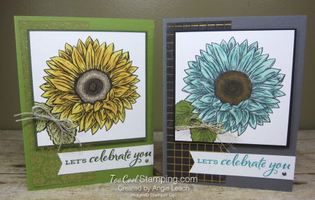 Celebrate Sunflowers Let's Celebrate You - two cool