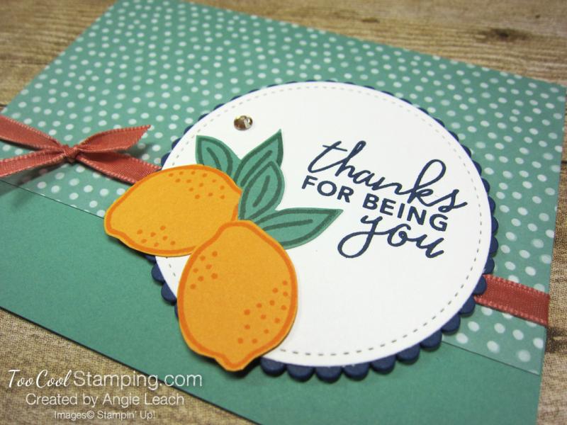 Simply citrus jade dots - Thanks lemons 2