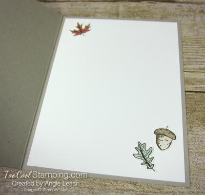 Beautiful autumn falling leaves - grateful 3