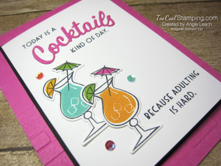 Nothings Better Than Cocktails - magenta 2