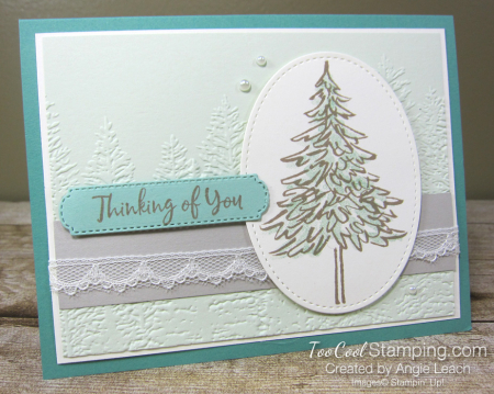 In The Pines Jade Seafoam CTC Card 1