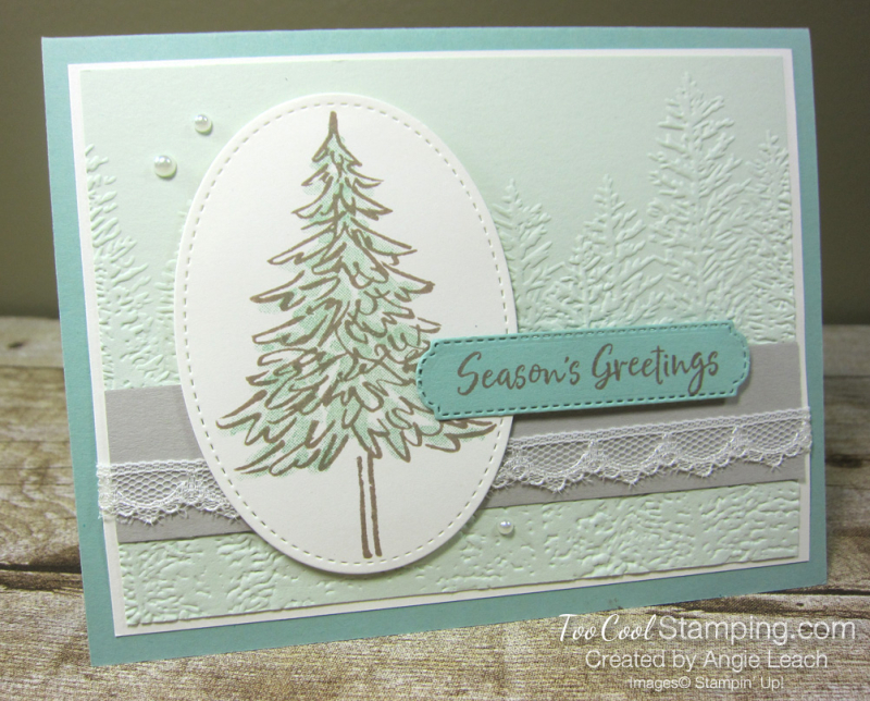 In The Pines Mint Seafoam CTC Card 1