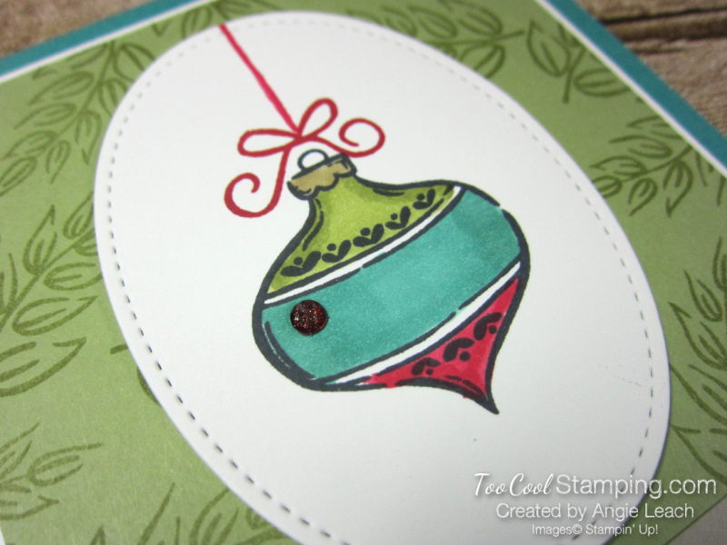 Tag Buffet Merry Christmas Ornament - bermuda 2