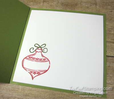 Tag Buffet Book Card - olive 4
