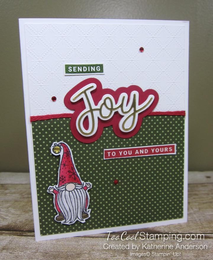 Peace and joy gnome - 1