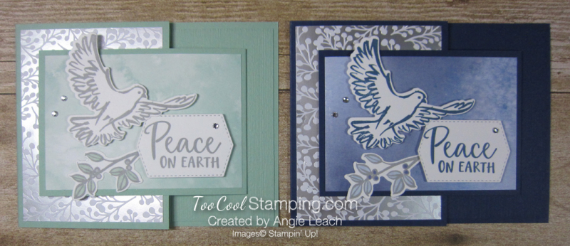 Dove of hope joy fold - two cool