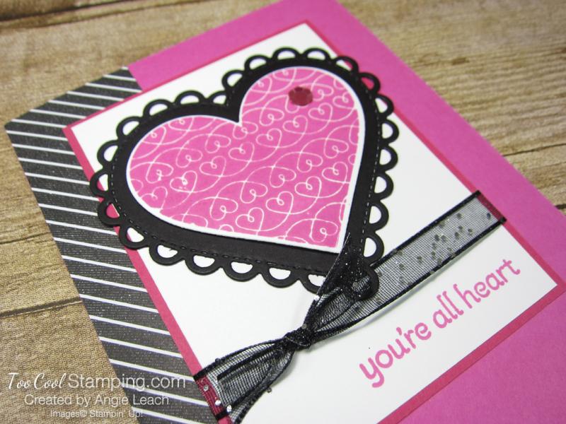 Lots of Heart bold true love - magenta 2