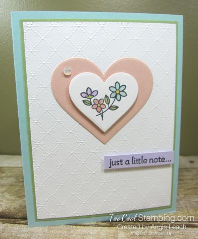 Lots of Heart just a note - petal heart
