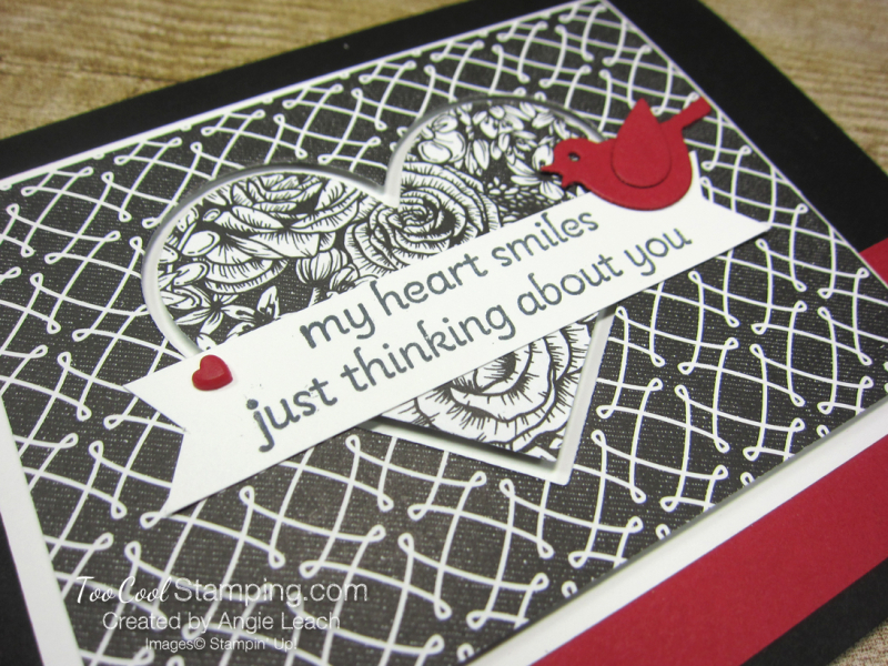 Lots of Heart recessed hearts - black 2