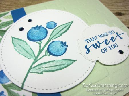 Berry blessings bountiful blessings - sea foam 3