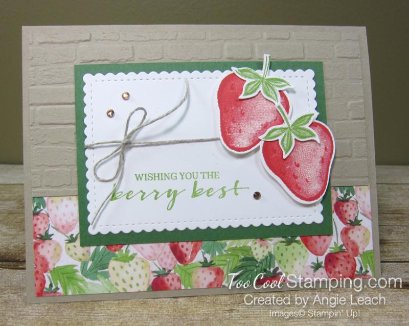 Sweet strawberry pair - crumb 1