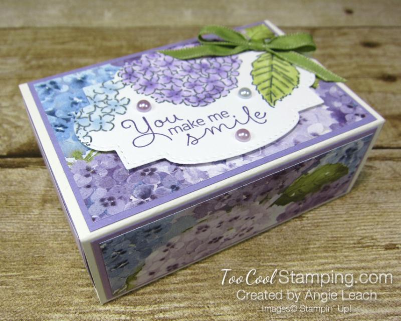 Love you Always boxes - hydrangea