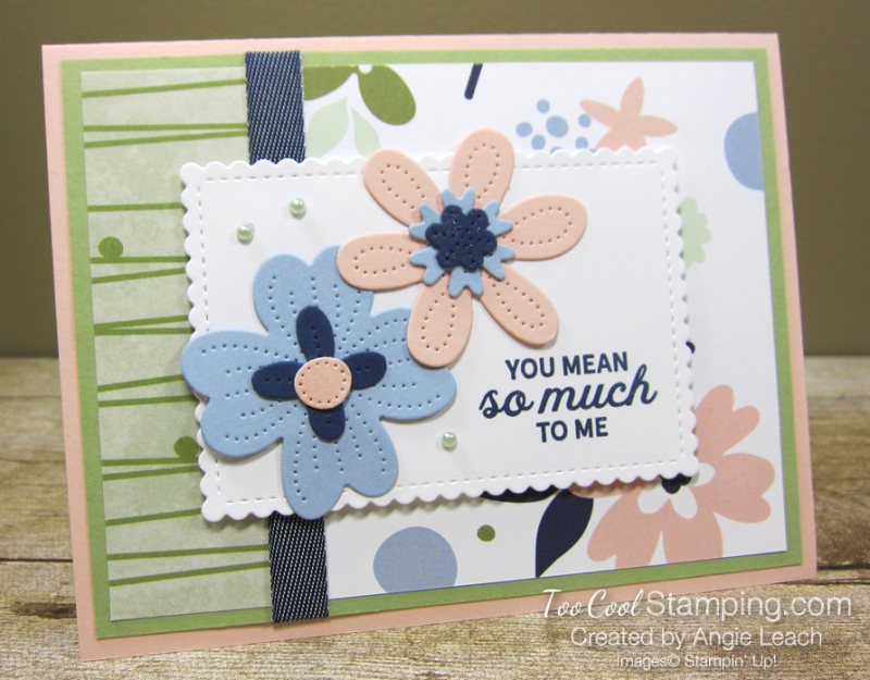 Paper blooms so much to me - seafoam