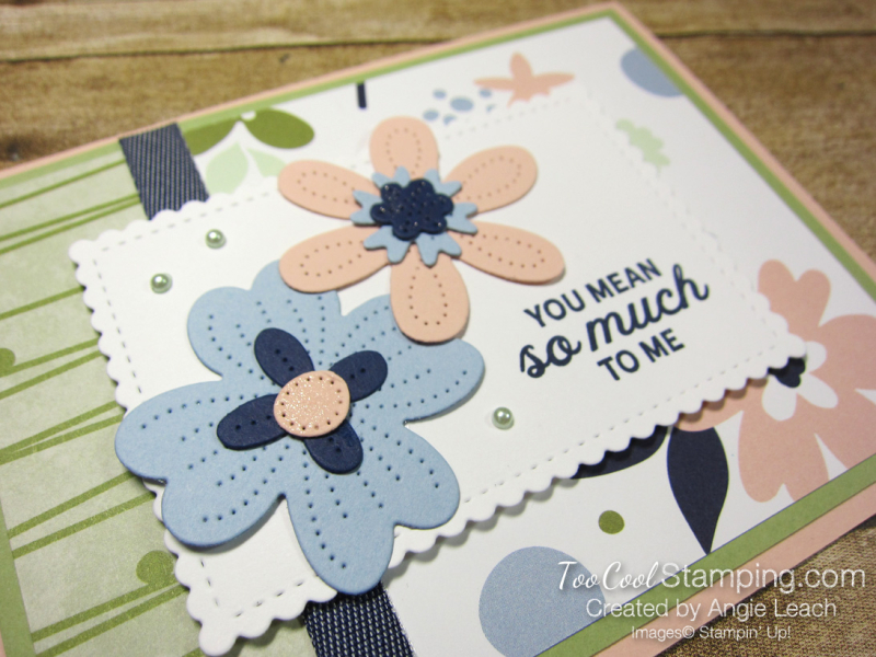 Paper blooms so much to me - seafoam 2