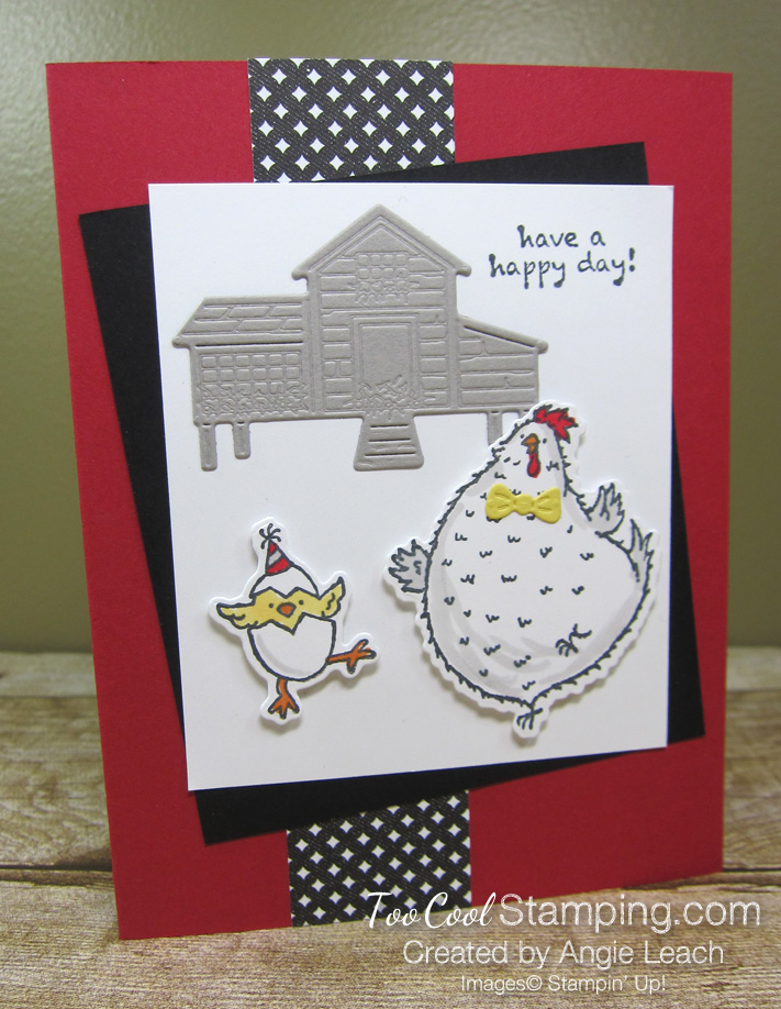 Her chick barn - red happy day 1