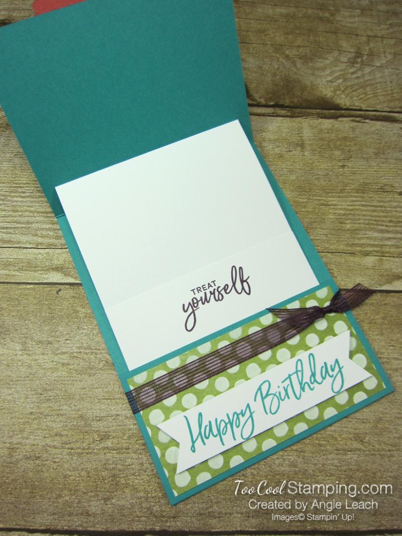 Ice cream corner gift card holder - bermuda 3