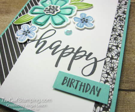 Pretty Perennials simple collage birthday - coastal cabana 4