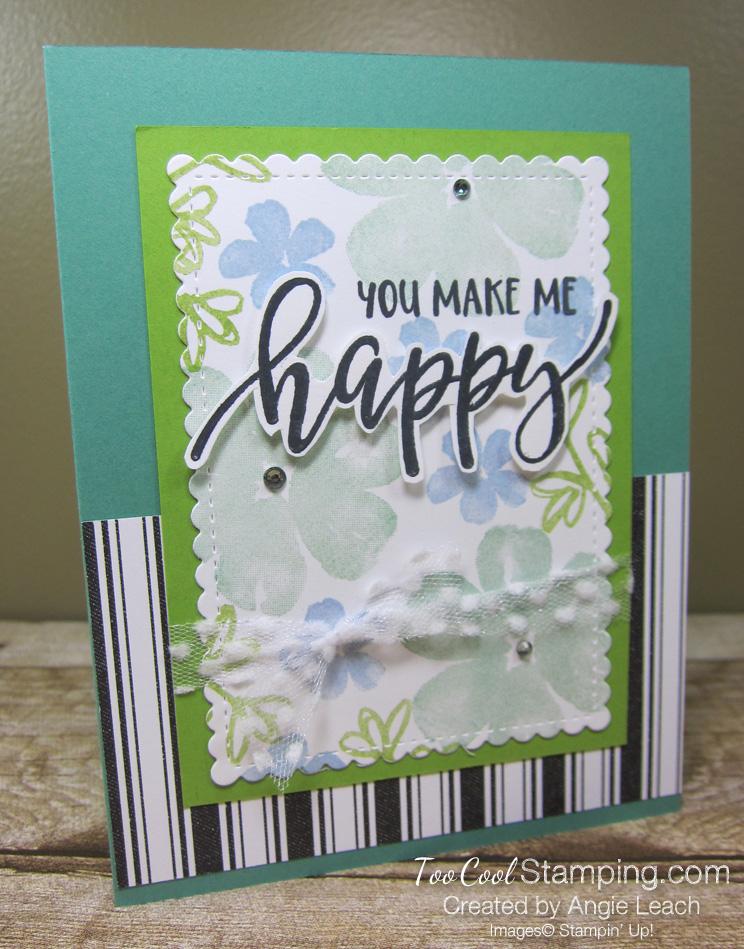 Pretty Perennials You Make Me Happy - jade