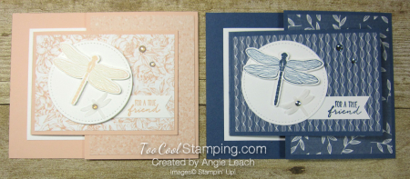 Dragonfly garden joy-fold - two cool