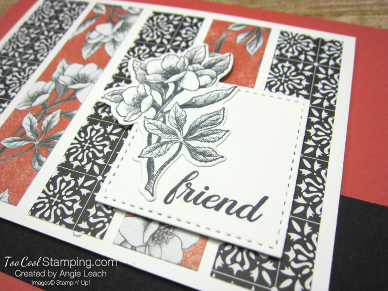 Botanical prints strips 2