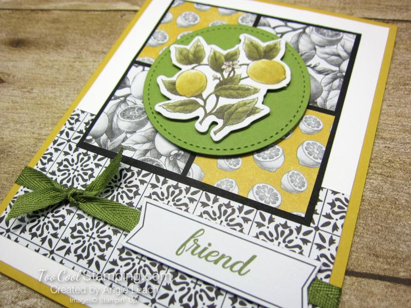 Botanical prints lemon squares 2