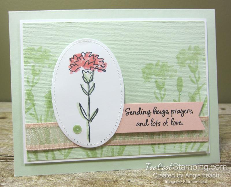 Inspiring Iris Hugs & Prayers - sea foam