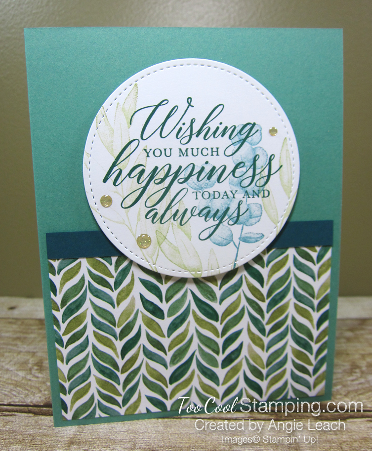 Forever Greenery - Wishing You Happiness Circle 1