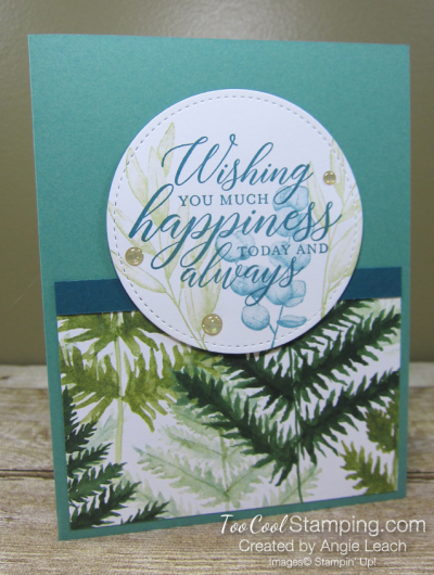 Forever Greenery - Wishing You Happiness Circle B1