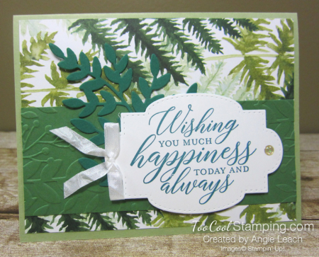 Forever Greenery - Wishing You Happiness Leaves B1