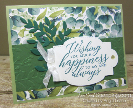 Forever Greenery - Wishing You Happiness Leaves C1