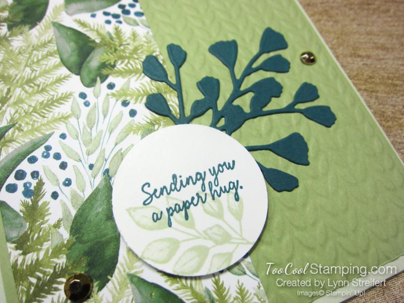 Forever Greenery Paper Hug - Streifert 2