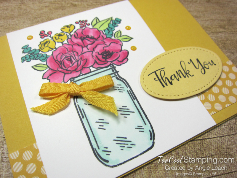 Bumblebee Thank You with dots 2